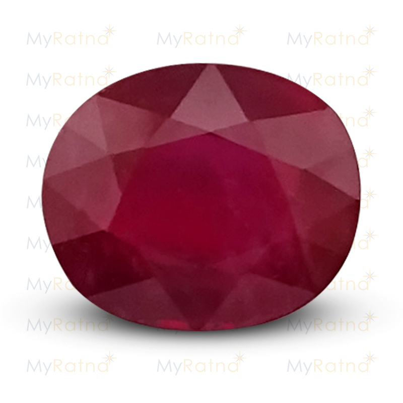 Certified Natural Ruby 5.32 Ct (Bangkok) - Prime - MyRatna