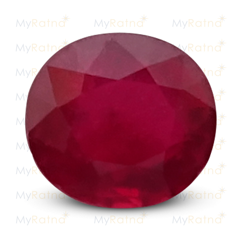Certified Natural Ruby 2.87 Ct (Bangkok) - Prime - MyRatna