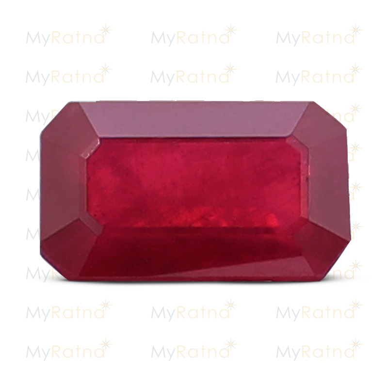 Certified Natural Ruby 7.67 Ct (Bangkok) - Prime - MyRatna