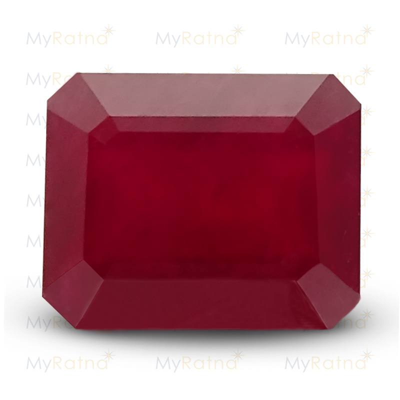 Certified Natural Ruby 7.71 Ct (Bangkok) - Prime - MyRatna