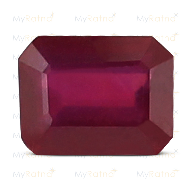 Certified Natural Ruby 3.11 Ct (Bangkok) - Prime - MyRatna