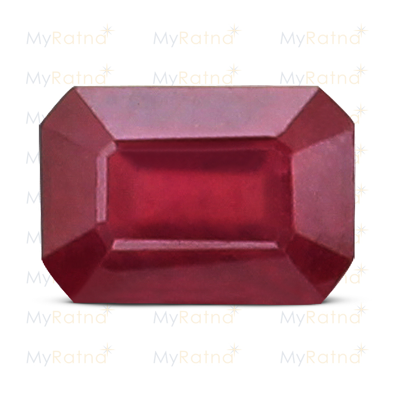 Certified Natural Ruby 3.2 Ct (Bangkok) - Prime - MyRatna