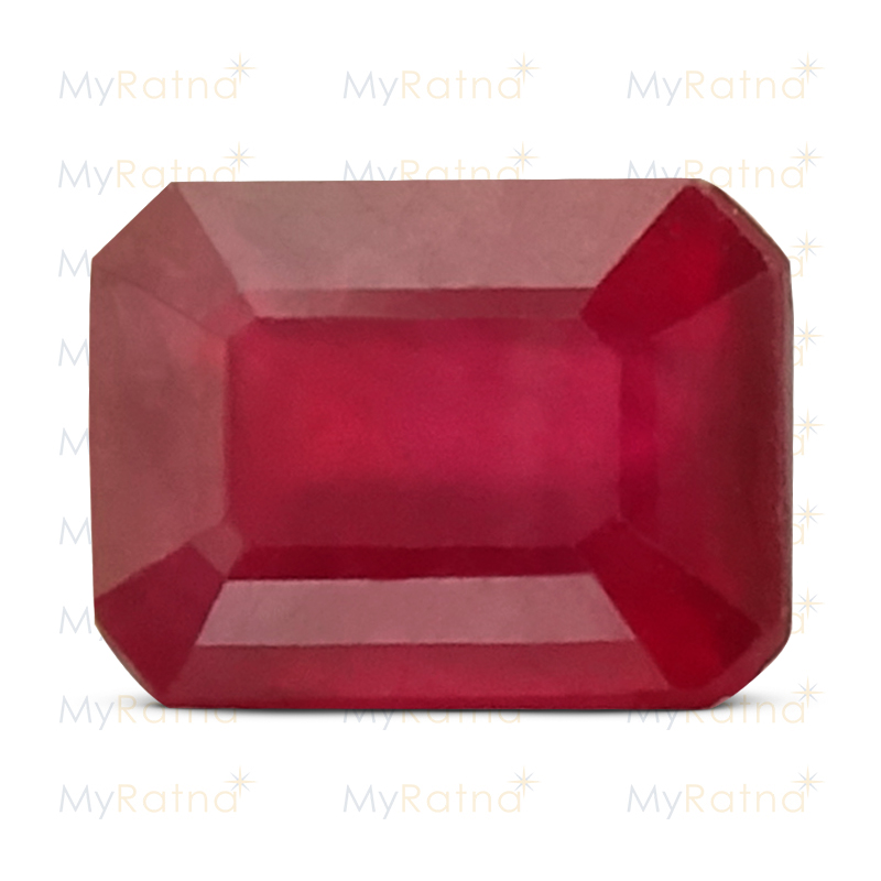 Certified Natural Ruby 3.4 Ct (Bangkok) - Prime - MyRatna