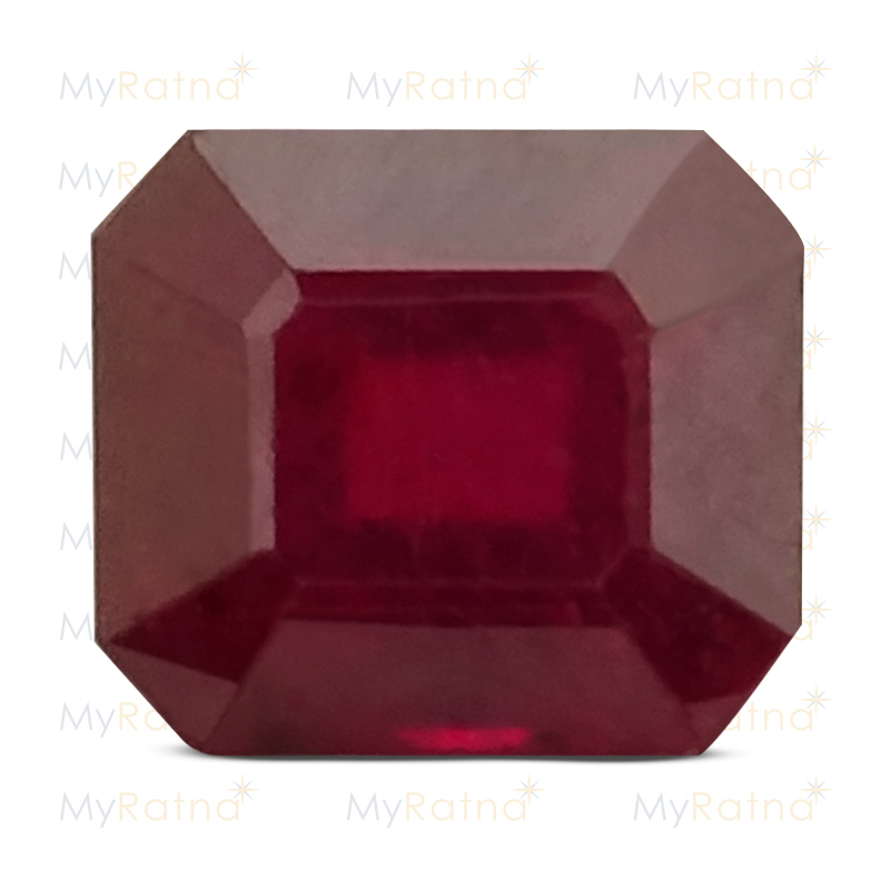 Certified Natural Ruby 3.07 Ct (Bangkok) - Prime - MyRatna