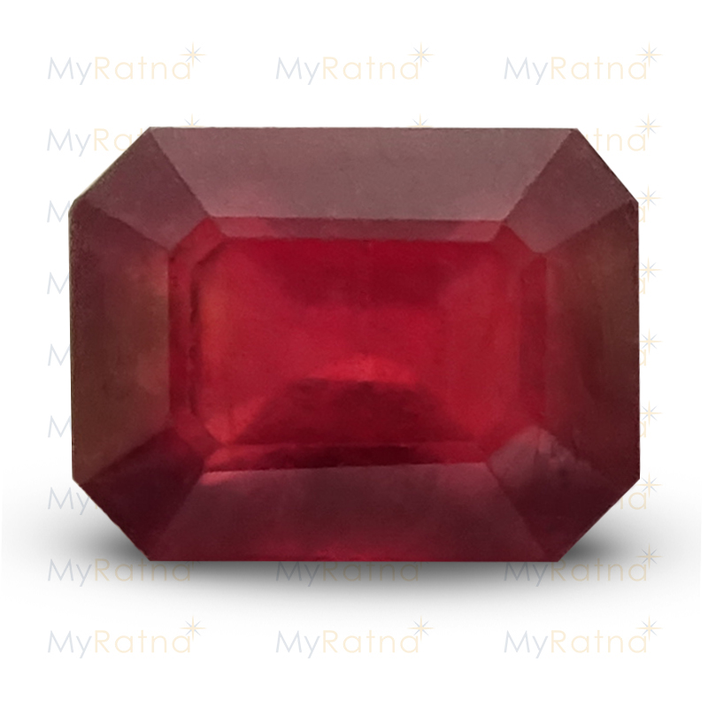 Certified Natural Ruby 2.93 Ct (Bangkok) - Prime - MyRatna