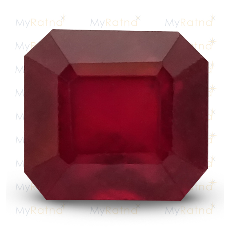 Certified Natural Ruby 3.55 Ct (Bangkok) - Prime - MyRatna