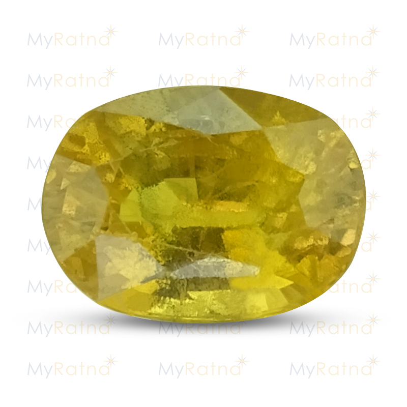 Certified Natural Yellow Sapphire 5.31 Ct (Bangkok) - Prime - MyRatna