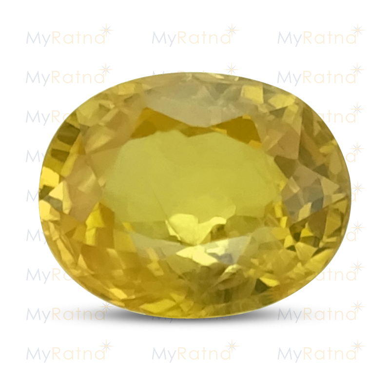 Certified Natural Yellow Sapphire 3.62 Ct (Bangkok) - Prime - MyRatna