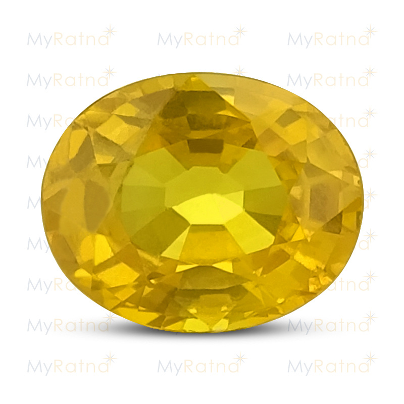 Certified Natural Yellow Sapphire 1.94 Ct (Bangkok) - Limited - MyRatna