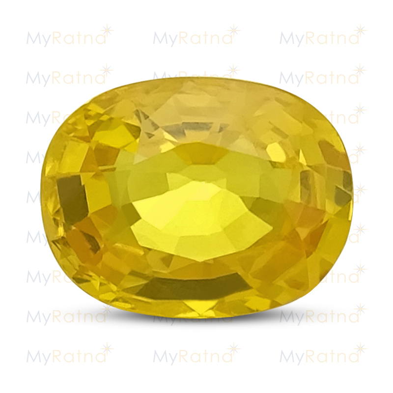 Certified Natural Yellow Sapphire 1.98 Ct (Bangkok) - Limited - MyRatna