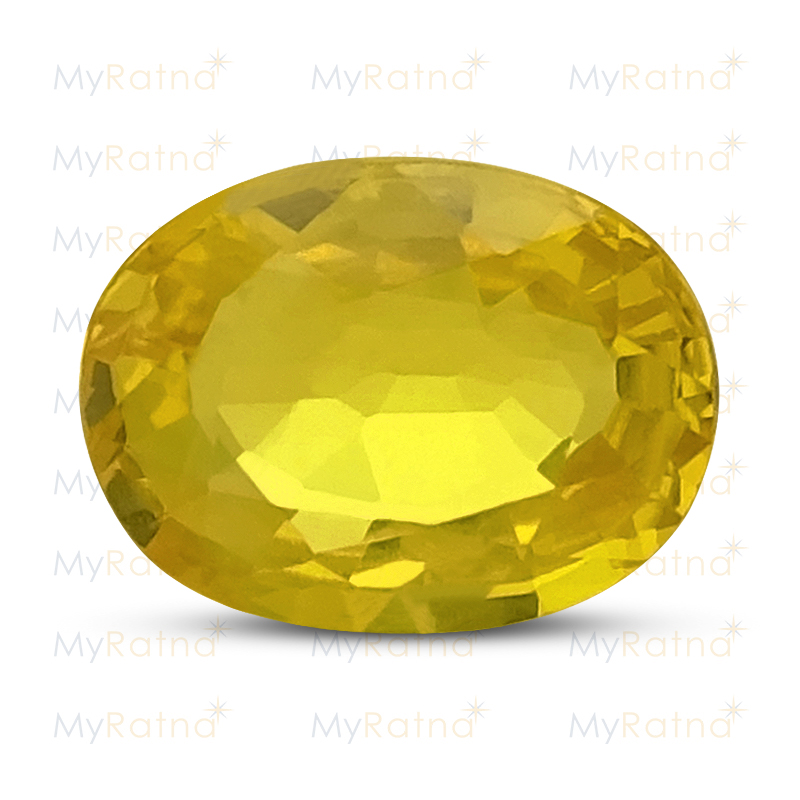 Certified Natural Yellow Sapphire 1.42 Ct (Bangkok) - Prime - MyRatna