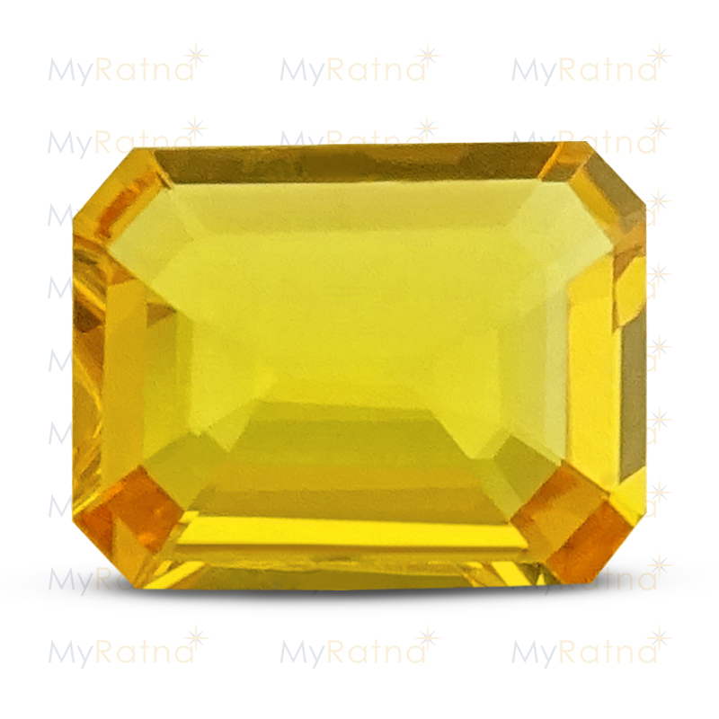 Certified Natural Yellow Sapphire 3.7 Ct (Bangkok) - Limited - MyRatna