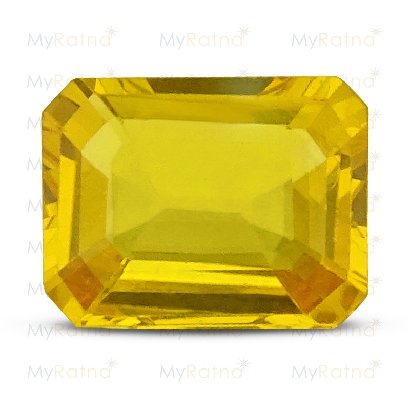 Certified Natural Yellow Sapphire 3.9 Ct (Bangkok) - Limited - MyRatna