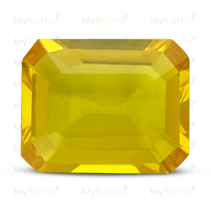 Certified Natural Yellow Sapphire 3.07 Ct (Bangkok) - Limited - MyRatna