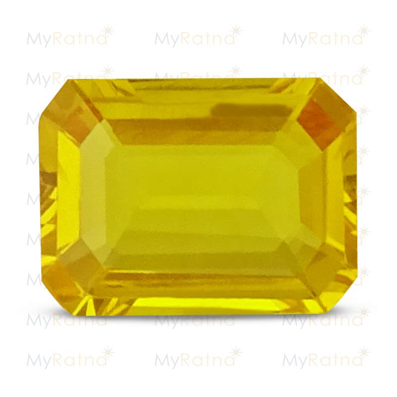 Certified Natural Yellow Sapphire 3.04 Ct (Bangkok) - Limited - MyRatna