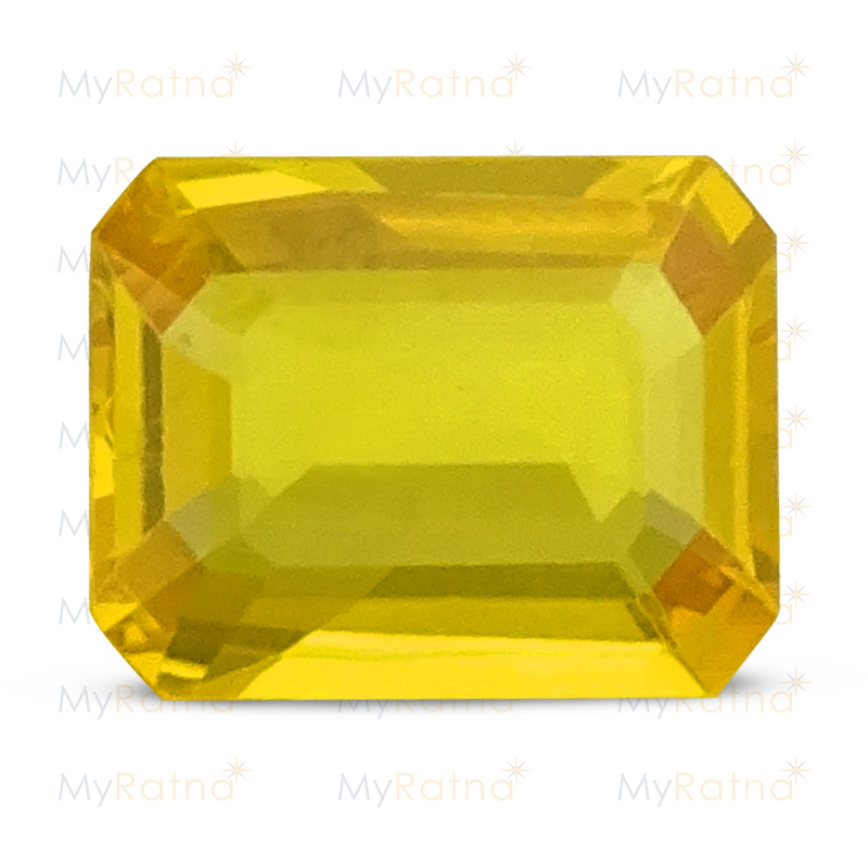 Certified Natural Yellow Sapphire 3.03 Ct (Bangkok) - Limited - MyRatna