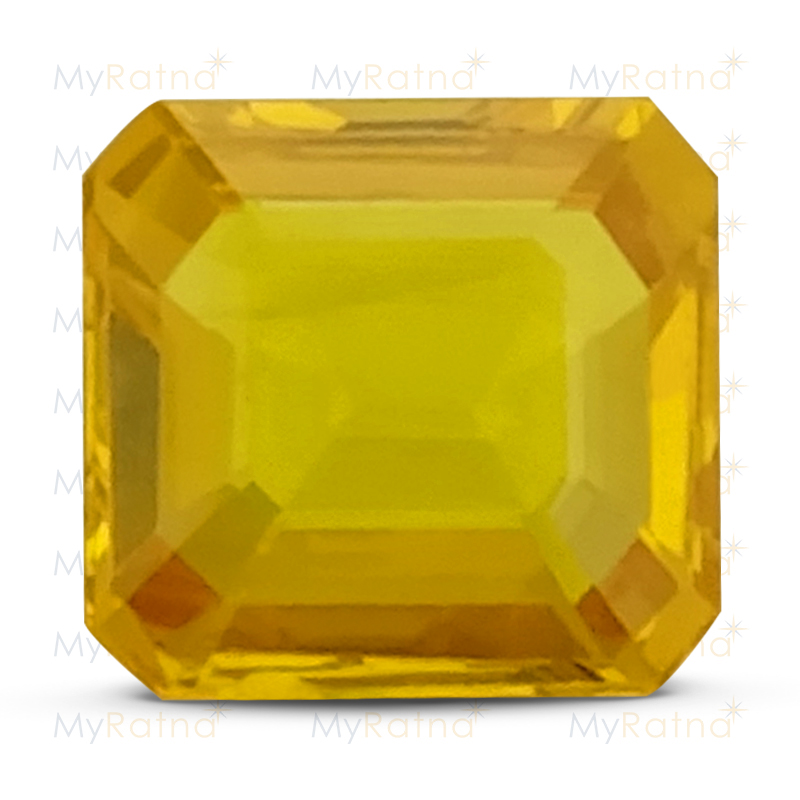 Certified Natural Yellow Sapphire 3.05 Ct (Bangkok) - Limited - MyRatna