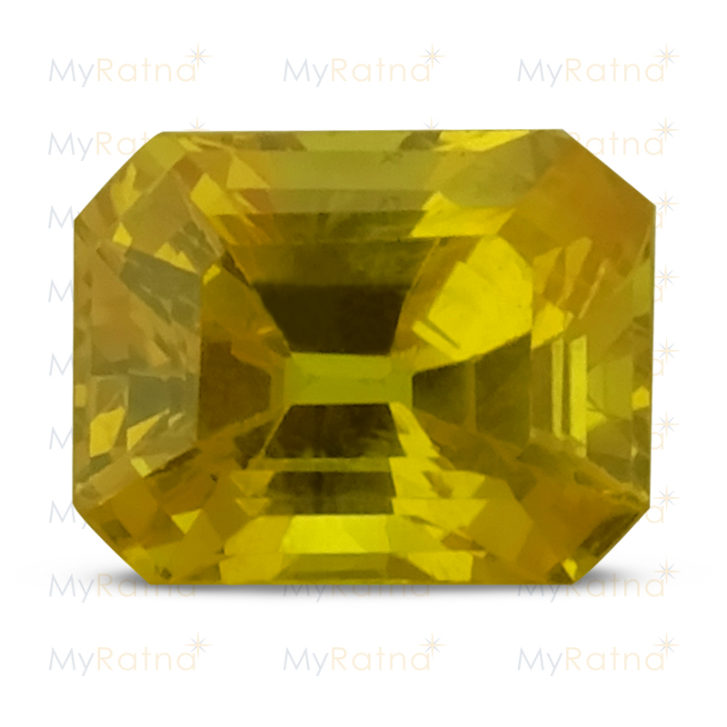 Certified Natural Yellow Sapphire 2.84 Ct (Bangkok) - Limited - MyRatna