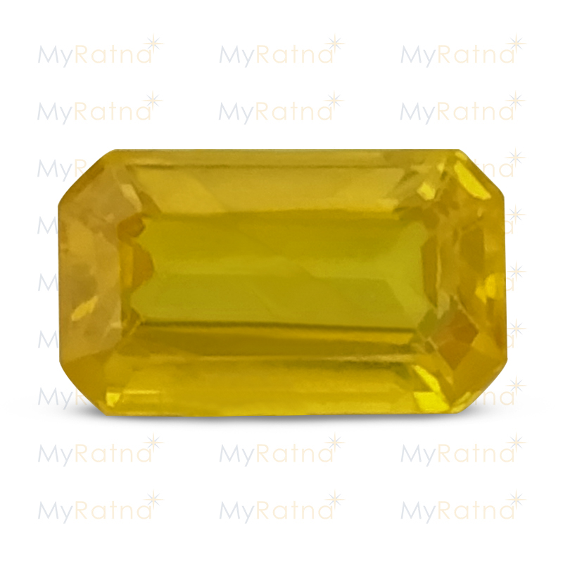 Certified Natural Yellow Sapphire 1.46 Ct (Bangkok) - Prime - MyRatna