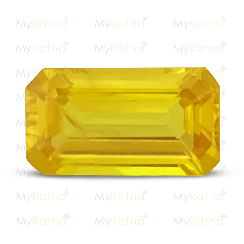 Certified Natural Yellow Sapphire 1.3 Ct (Bangkok) - Prime - MyRatna