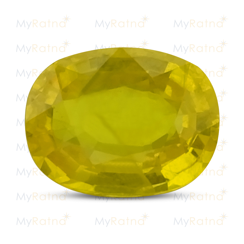 Certified Natural Yellow Sapphire 5.41 Ct (Bangkok) - Prime - MyRatna