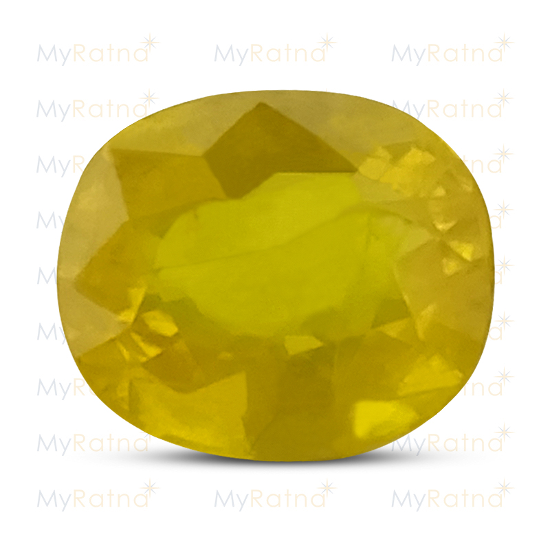 Certified Natural Yellow Sapphire 4.94 Ct (Bangkok) - Prime - MyRatna