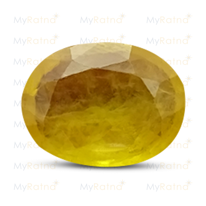 Certified Natural Yellow Sapphire 3.12 Ct (Bangkok) - Fine - MyRatna