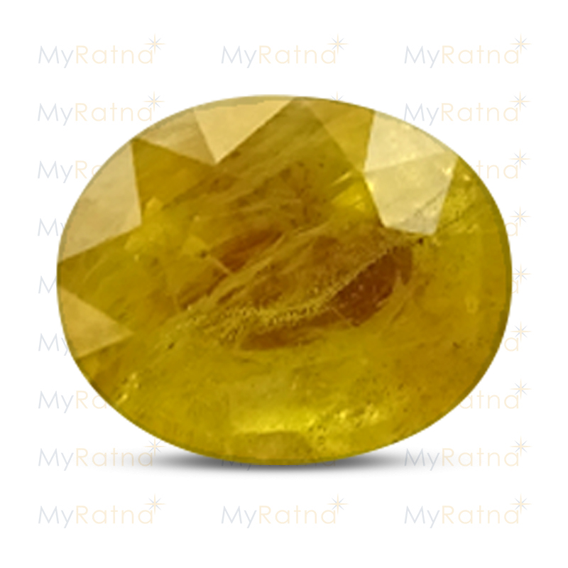 Certified Natural Yellow Sapphire 4.64 Ct (Bangkok) - Fine - MyRatna