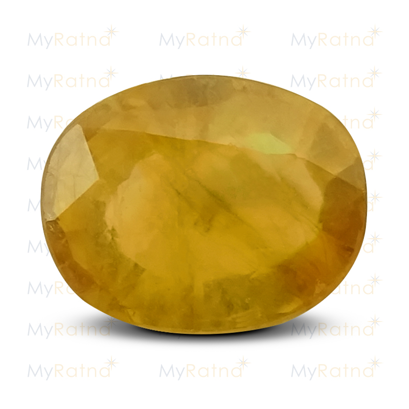 Certified Natural Yellow Sapphire 4.93 Ct (Bangkok) - Fine - MyRatna