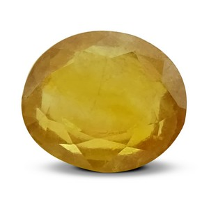 Certified Natural Yellow Sapphire 6.74 Ct (Bangkok) - Fine - MyRatna