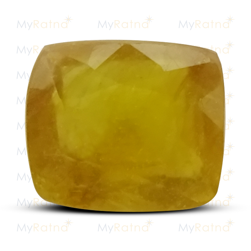 Certified Natural Yellow Sapphire 3.95 Ct (Bangkok) - Fine - MyRatna