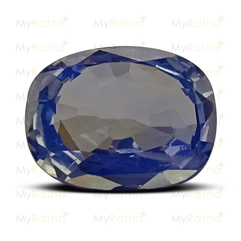 Certified Natural Blue Sapphire 3.41 Ct (Ceylon) - Prime - MyRatna