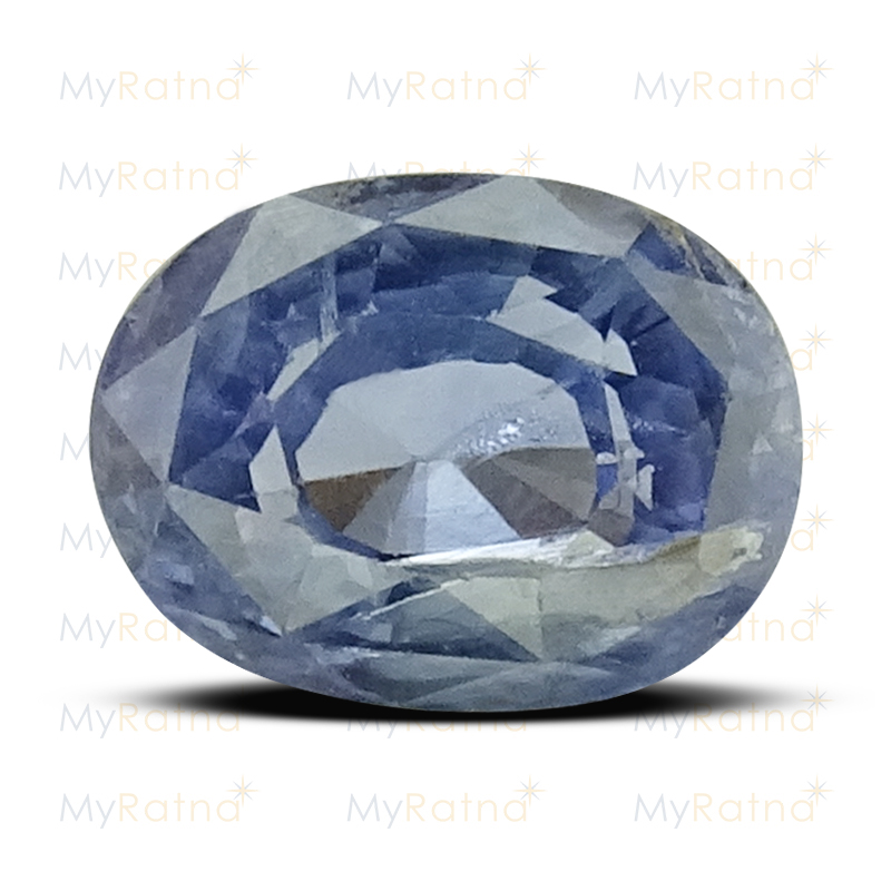 Certified Natural Blue Sapphire 3.32 Ct (Ceylon) - Prime - MyRatna