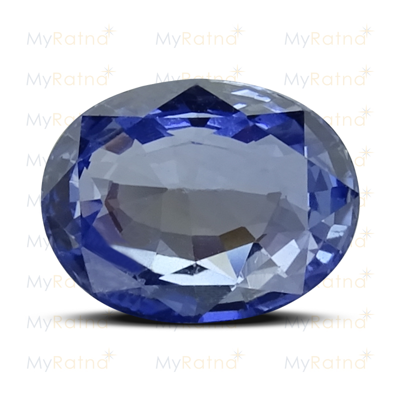 Certified Natural Blue Sapphire 4.09 Ct (Ceylon) - Limited - MyRatna