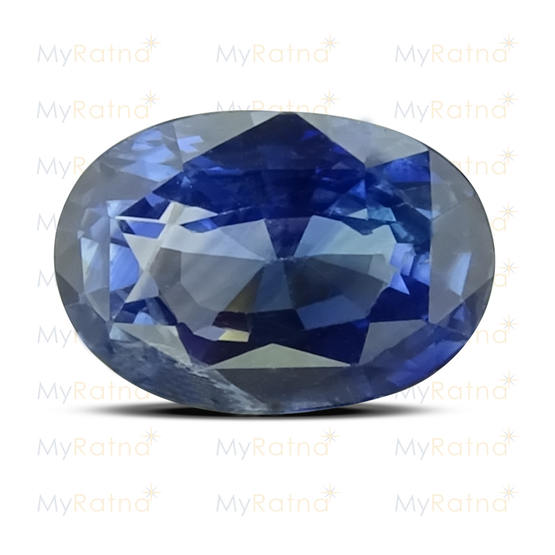 Certified Natural Blue Sapphire 3.13 Ct (Ceylon) - Limited - MyRatna