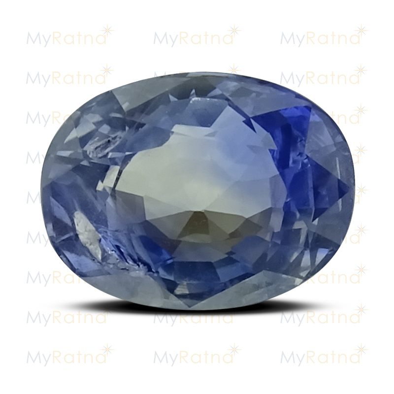 Certified Natural Blue Sapphire 3.35 Ct (Ceylon) - Prime - MyRatna