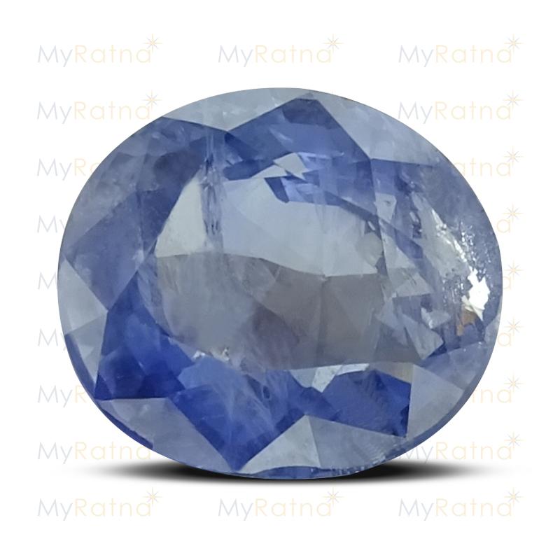 Certified Natural Blue Sapphire 6.31 Ct (Ceylon) - Prime - MyRatna