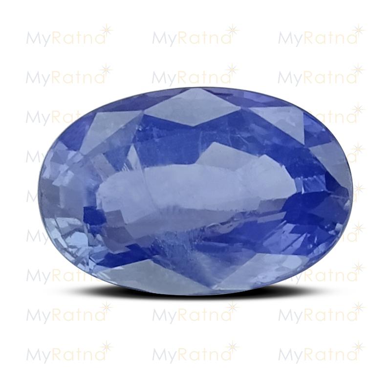 Certified Natural Blue Sapphire 5.65 Ct (Ceylon) - Prime - MyRatna