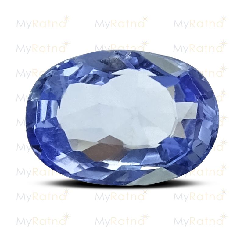 Certified Natural Blue Sapphire 3.44 Ct (Ceylon) - Limited - MyRatna