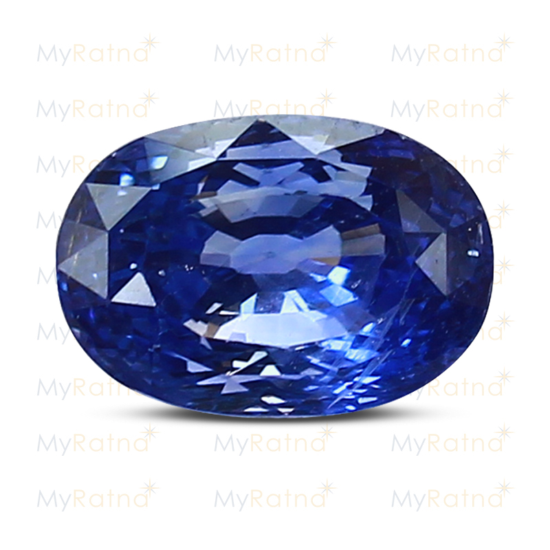 Certified Natural Blue Sapphire 6.71 Ct (Ceylon) - Limited - MyRatna