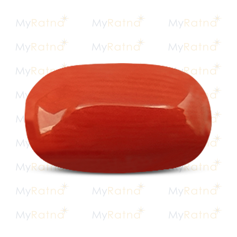 Certified Natural Red Coral 4.84 Ct (Italy) - Limited - MyRatna