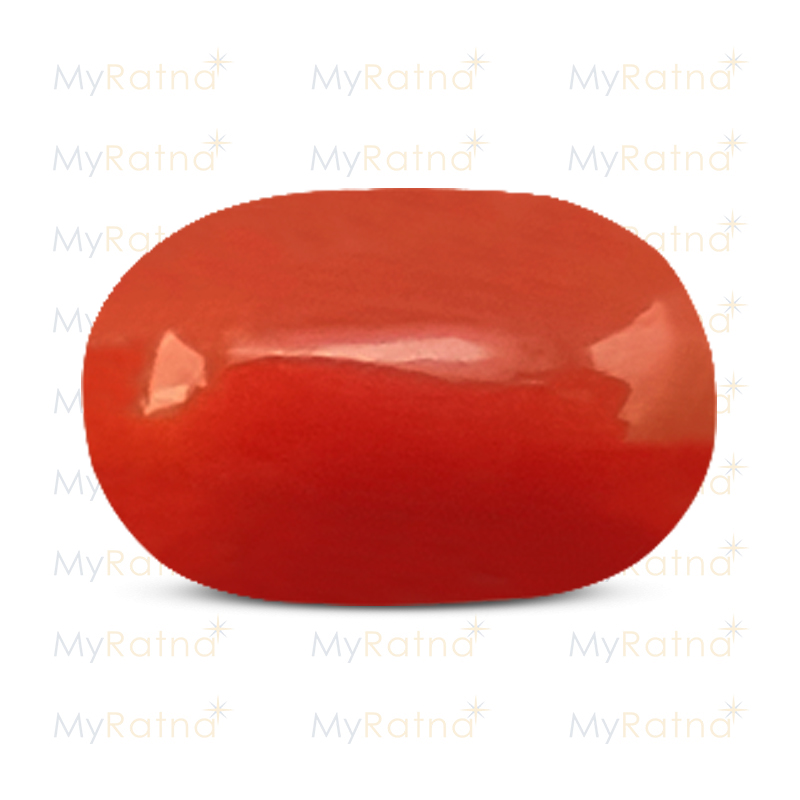 Certified Natural Red Coral 5.05 Ct (Italy) - Limited - MyRatna