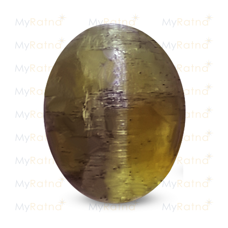 Certified Natural Cats Eye 4.12 Ct (India) - Fine - MyRatna