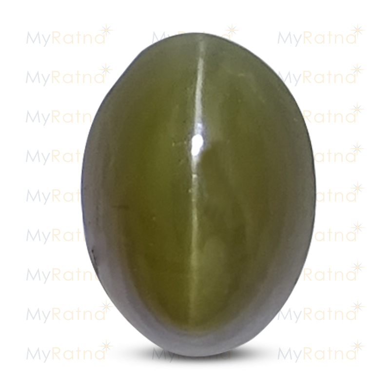 Certified Natural Cats Eye 4.48 Ct (India) - Fine - MyRatna