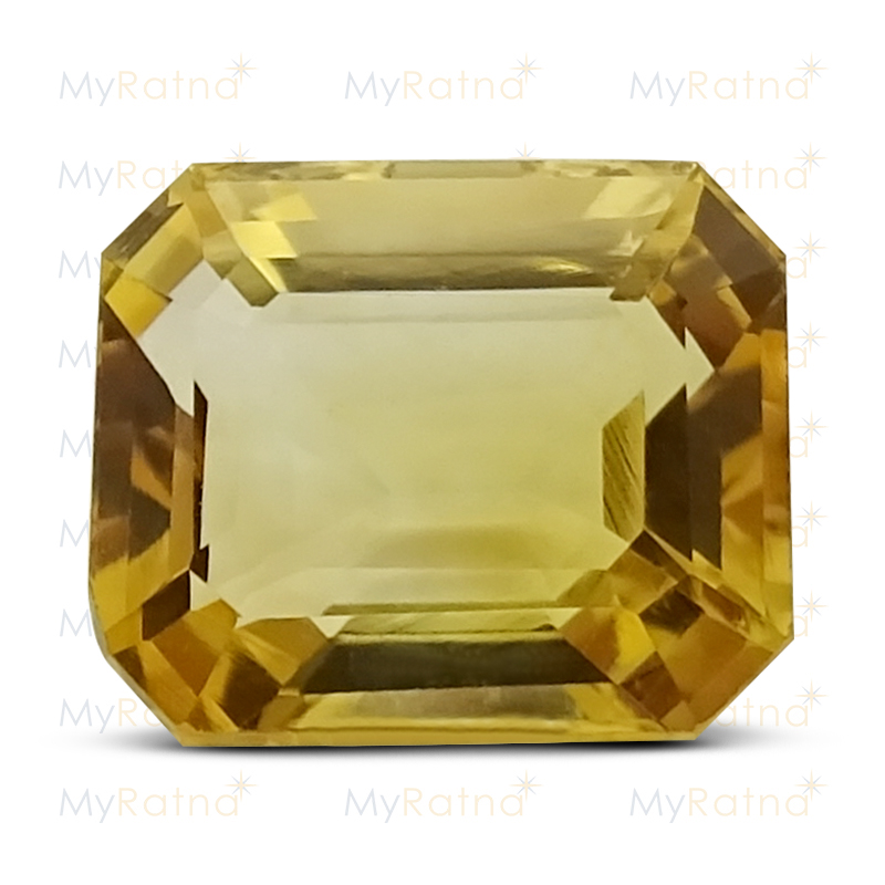 Certified Natural Citrine 5.48 Ct - Limited - MyRatna