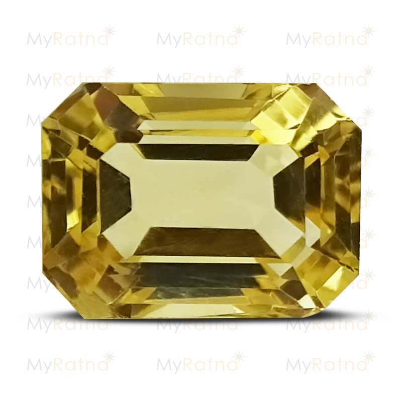 Certified Natural Citrine 4.02 Ct - Limited - MyRatna
