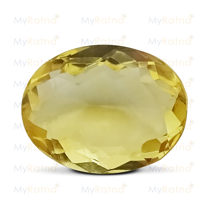 Certified Natural Citrine 4.81 Ct - Limited - MyRatna