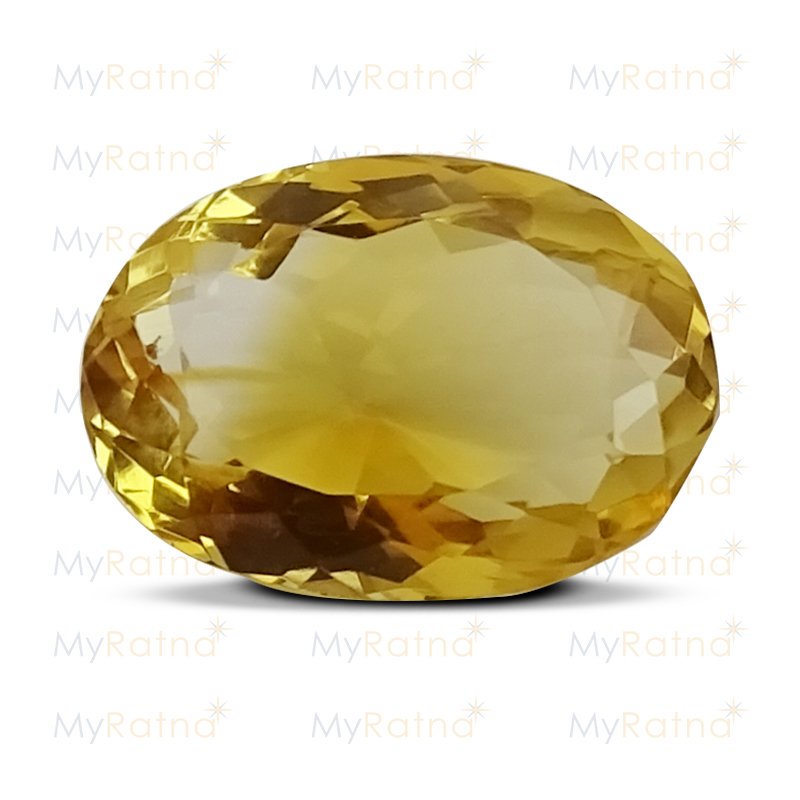 Certified Natural Citrine 4.31 Ct - Limited - MyRatna