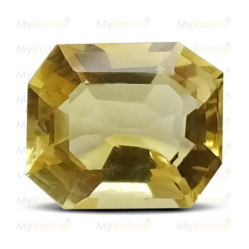 Certified Natural Citrine 3.6 Ct - Limited - MyRatna