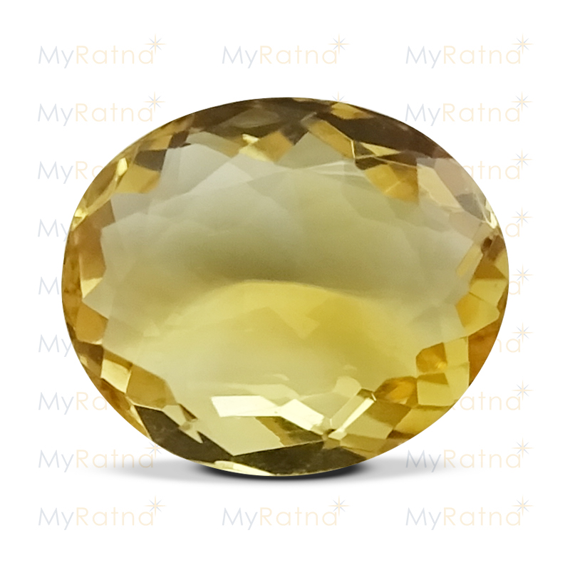 Certified Natural Citrine 3.39 Ct - Limited - MyRatna